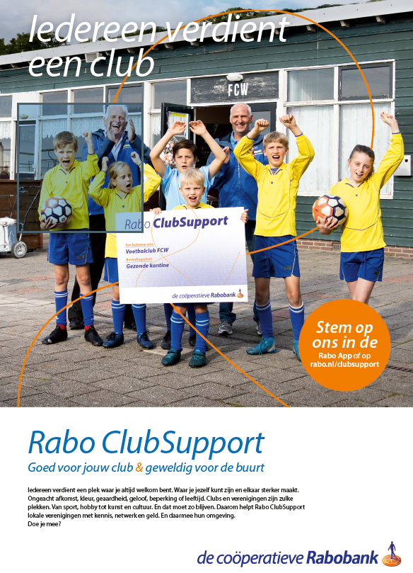 Rabobank Clubsupport 2021-2022